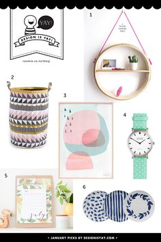 Summer Picks from Design is YAY