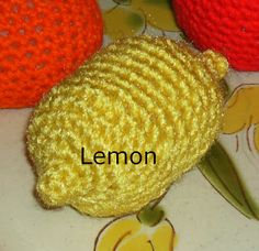 Free Crochet Patterns: {Free Crochet Patter} Lemon