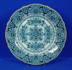 RP: Royal Makkum Large Plate Blue