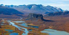 Rapadalen, the Rapa valley. Photo: Peter Rosén, Lapplandmedia