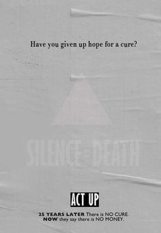 @peterstaley challenges us to fight for the cure. Silence = Death. Join the conversation about #HIV #AIDS