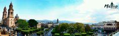 #MexicoSeAdmira con tan bellas plazas, panorámica del centro de la ciudad de #Morelia #Michoacan.