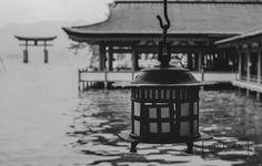 Lamp and the Big Torii  Itsukushim  Travel photo by PAkDocK http://rarme.com/?F9gZi