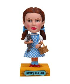 Take a look at this Dorothy Wacky Wobbler by Funko on #zulily today!