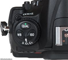 Nikn D300 TOp Left panel Nikon D300, Green Dot, User Guide, Shutter Speed, Fujifilm Instax Mini, Photography Tips, Detail, Blog, Lightning Bolt
