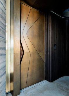 Just a photo: 16 ideas on how to design an entrance door – Decor Ideas Home Door Design, Door Gate Design, Door Design Interior, Wooden Door Design, Front Door Design, Wooden Doors, Modern Entrance Door, Main Entrance Door Design, Modern Door