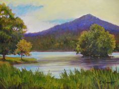 "Blue Ridge, Daily Painter: Janet Wimmer: Summer Paintings ""En Plein Air"""