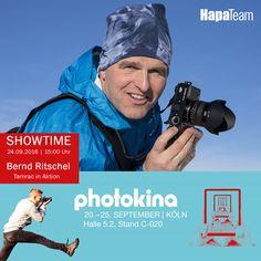 Bernd Ritschel zählt seit Jahren zu den bekanntesten Berg- und #Naturfotografen, nicht nur im deutschen Sprachraum, sondern auch international. So zeugen mehr als 25 Bildbänden, 5 Lehrbücher/Führer, zahlreiche Kalender, Ausstellungen und Veröffentlichungen in fast allen großen deutschsprachigen Magazinen. in seiner über zwei Jahrzehnte dauernden Karriere als Profifotograf von seinem Können.    Bernd Ritschel und #Tamrac könnt Ihr am 24.09 um 15:00Uhr live am HapaTeam #photokina Stand…