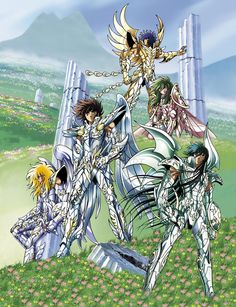 Chevaliers de bronze divins