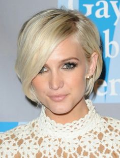 Adorable short haircut
