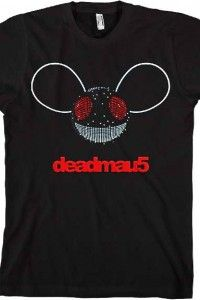 Deamau5 – Mau Logo With Voice Activated Led Mens Tee In Black