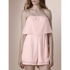 15.06$  Watch now - http://di763.justgood.pw/go.php?t=180819805 - Trendy Strapless Pure Color Romper For Women 15.06$