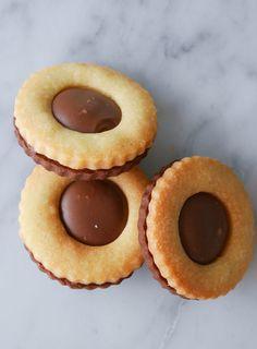 Hembakade ballerinakakor | Brinken bakar Swedish Recipes, Fika, Dessert Recipes, Desserts, Doughnut, Biscuits, Sandwiches, Cheesecake, Food And Drink