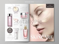 Skincare magazine ads - Abstract - Totallypic