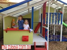 KIds love playing outside in our cubby houses!#MyCubby #CubbyHouse #Cubbies #Fort #Play #OutsidePlay #PlayIdeas #OutdoorPlay #Christmas #ChristmasLayby #ChristmasPresent #Australia