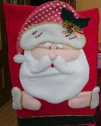 Cubresillas Papá Noel - alternativo 2