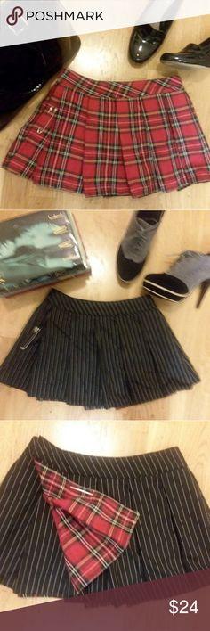 I just added this listing on Poshmark: ❤ Sexy Reversible School Girl Mini Skirt NWOT ❤. #shopmycloset #poshmark #fashion #shopping #style #forsale #Dresses & Skirts
