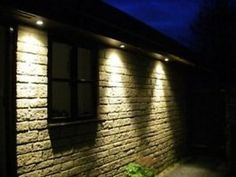 Soffit Downlighting Example