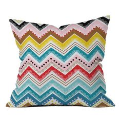 I pinned this Khristian A. Howell Nolita Chevrons Throw Pillow from the DENY Designs event at Joss and Main!