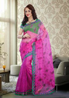 Embrace yourself in this wonderful saree designed with Shades,