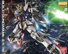 Bandai MG Build Gundam Mk-II 1/100 Plastic model kit | Anime figures, figurines, action figures