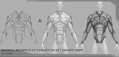 Halo 4 Spartan IV under armor and utility suit - Page 16
