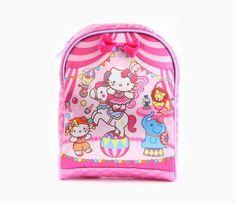 Hello Kitty Compact Backpack: Circus