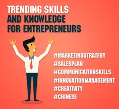 Trending skills and knowledge for entrepreneurs