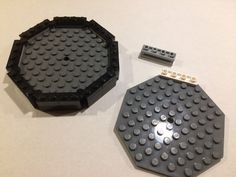 Octagonal plate surround by Justin Watkins #LEGO #techniques