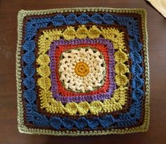 """12"""" Tangled Threads by Melinda Miller on Ravelry. Free pattern."""