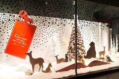 John Lewis Christmas Window Display | The Bear and the Hare, 2013 | by Millington Associates