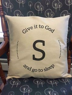 Canvas Pillows - make it mean more with your own quote or phrase.