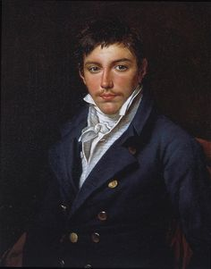 Jacques-Louis David, Portrait of François-Antoine Rasse de Gavre,   1816. The sitter's father may have commissioned this portrait from David out of sympathy for the exiled painter. The boy was sixteen years old when the portrait was painted...