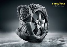 Goodyear  Advertising Agency: Leo Burnett, Berlin, Germany Chief Creative Officer: Andreas Pauli Art Director: Yigit Unan Copywriter: Mark-Marcel Müller Creative Director / Art Director: Gabriel Mattar Creative Director / Copywriter: Axel Tischer Production company: Photoby Illustrator: Zombie