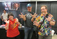 "Us with Matthew Lillard, costar of ""Scream"", ""Scooby-Doo"", ""The Descendants"", and more."