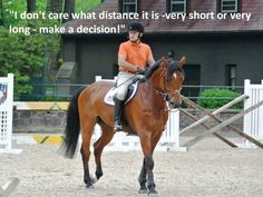 my problem, i just need to make a decision! Stuff George Says - Memorable Quotes From The George H. Horse Riding Quotes, Horse Riding Tips, Horse Quotes, Trail Riding, Equestrian Memes, Equestrian Problems, George Morris Quotes, Equine Quotes, English Riding