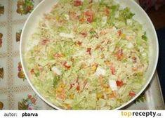 Chutný salát z čínského zelí Guacamole, Potato Salad, Low Carb, Potatoes, Ethnic Recipes, Food, Meal, Potato, Essen