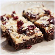 Marian Herkkupuoti: Gluteeniton suklaakakku