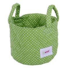 Spielzeugtasche Punkte grün