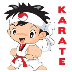 dibujos de niños karatecas - Cerca amb Google