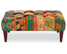 Kantha Ottoman from Sofa Mart