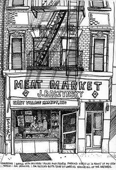 Tommy Kane Illustration. An Urban Art District favorite! http://www.urbanartdistrict.com/ http://www.facebook.com/UrbanArtDistrict