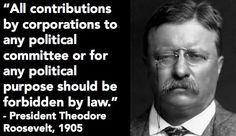 Truth be told...   And so well said.   Overturn Citizens United
