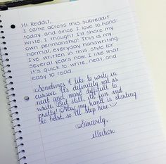 If you're in need of neat handwriting styles, perfect handwriting or the odd hand typed looking-style that looks fake(!) check out this post