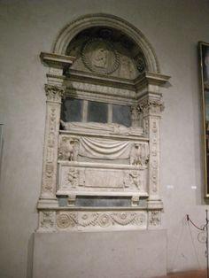 Duomo di sansepolcro, interno, scuola di rossellino, monumento funebre a simone graziani 01 - Duomo di Sansepolcro - Wikipedia