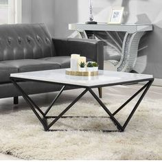 aledo-coffee-table delivers online tools that help you to stay in control of your personal information and protect your online privacy. Cool Coffee Tables, Coffee Table With Storage, Decorating Coffee Tables, Modern Coffee Tables, Metal Furniture, Living Room Furniture, Furniture Design, Furniture Decor, Faux Marble Coffee Table