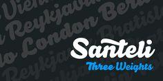 Santeli - Webfont & Desktop font « MyFonts
