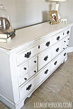 distressing furniture techinque