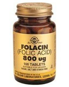 Acido Folico de solgar, solgar tiene una gran calidad y la transmite a todos sus productos, acido folico de 800 mg.