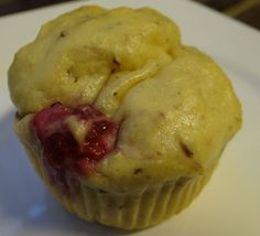 Low Carb Vanille Protein Muffin mit Himbeeren | Low Carb Rezepte